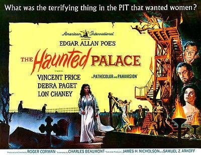 1963 The Haunted Palace Movie Poster