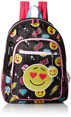 Trailmaker Girls' Emoji Bkpk, Black