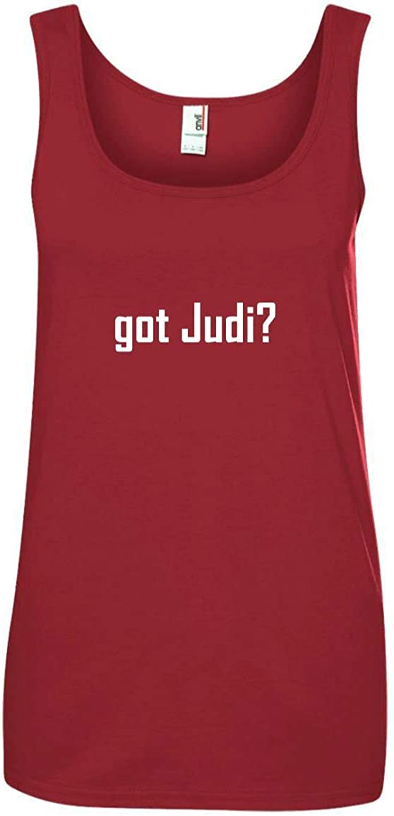 CHICKYSHIRT got Judi? A Soft /& Comfortable Womens Ringspun Cotton Tank Top