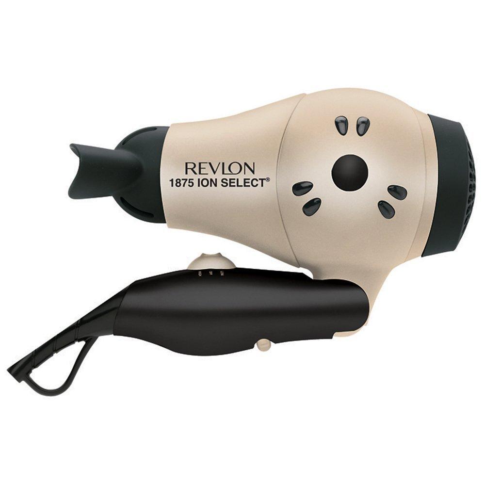 Amazon.com: Revlon 1875 Watt Fast Dry Compact Hair Dryer with ...
