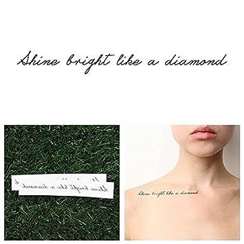 Amazon.com : Tattify Inspirational Quote Temporary Tattoo ...