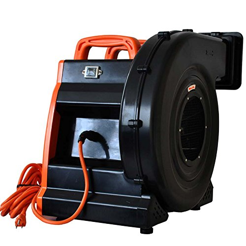 Bounce House Blower - 2 Hp Super Zoom Air Blower for Inflatables