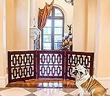 Contemporary Designer Folding Dog Gates - 81''W x 27''H (Each panel is 27''W)