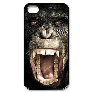 GGMMXO Gorilla Phone Case For Iphone 4/4s [Pattern-3]