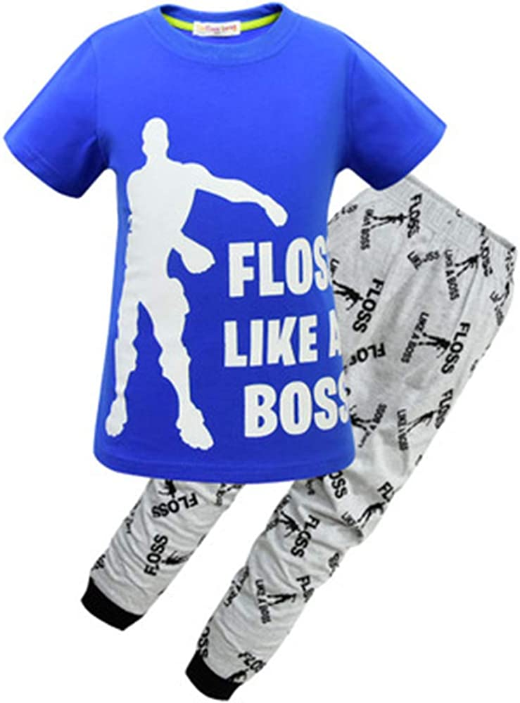 Floss Like a Boss T Shirt and Pants for Boys...