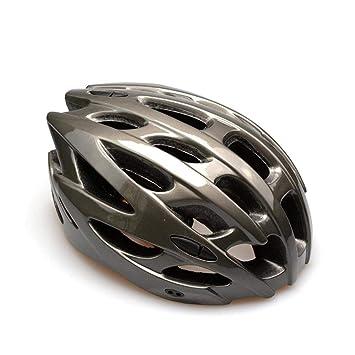 Relddd Bicicleta Casco Hecho de eps + pc Ciclismo Casco Carretera montaña Bicicleta Seguridad integrada Adultos