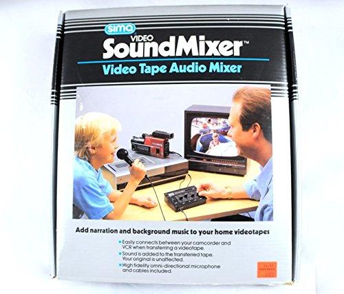 (1991 Sima Video Soundmixer Videotape Audio Mixer Model SSM Vintage)