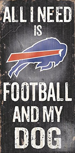 Fan Creations N0640 Buffalo Bills Football And My Dog Sign