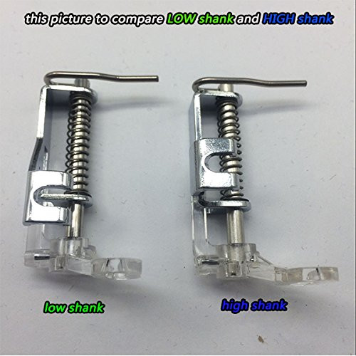 Amazon HONEYSEW High Shank Free Motion Quilting Darning Impressive Difference Between Low Shank And High Shank Sewing Machines