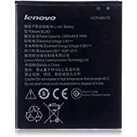 Ininsight solutions® BL242 Li-ion Battery for Lenovo A6000, A6000 Plus(2300 mAh) with Warranty