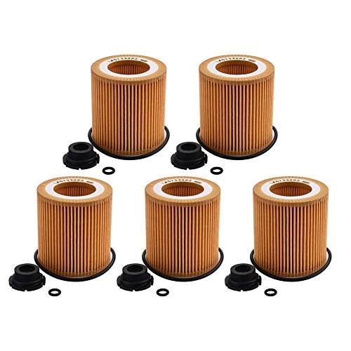 Catinbow HU816zKIT Metal-Free Oil Filter with Plastic Drain Plug for BMW- 5 PCS