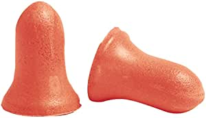 Howard Leight MAX-1 Uncorded NR33 Foam Earplugs Box, 200 Pair (Orange)