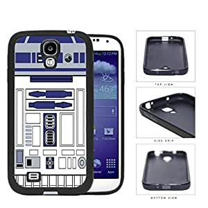 Astromech Droid Robot Character Rubber Silicone TPU Cell Phone Case Samsung Galaxy S4 SIV I9500