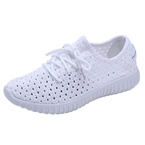 Zapatillas de Deporte Running Plano para Mujer Verano Otoño 2018 Moda PAOLIAN Zapatos Rejilla Hueco Senderismo Señora Calzado Dama Casual Zapatillas ...