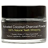 Pure Active Naturals - Activated Coconut Charcoal Powder - Natural Teeth Whitening- 7 Shades in 7 Days - All Natural - No Artificial Ingredients