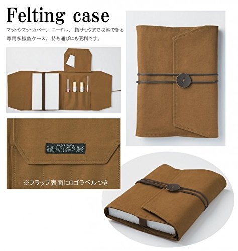 Hamanaka felt work felting case H441-045 (japan import)