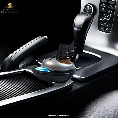 Aromatherapy Essential Oils Car Diffuser - Refresh & Revitalize your Vehicle with the Auto Air Freshner from Living BeAtitudes