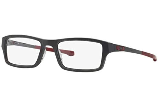 4c9b4044e16 Oakley Chamfer OX8039-0353 Eyeglasses Satin Pavement Clear Demo 53 ...