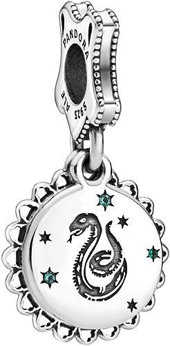 PANDORA Harry Potter, Slytherin 925 Sterling Silver Dangle Charm - 798620C01