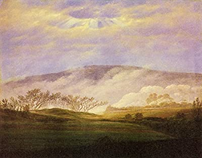 Fog in the Elbe Valley by Caspar David Friedrich. 100% Hand Painted. Oil On Canvas. Reproduction. (Unframed and Unstretched).