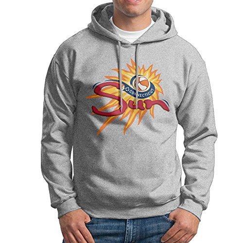 MARC Men's Connecticut Sun Sweatshirt Ash Size - Ray Ban Customize