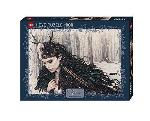 Heye Horned 1000 Piece Victoria Frances Jigsaw Puzzle (Snow Gothic)