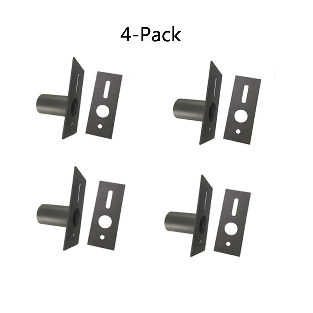 4-Pack 1000LED Adapter Transform Slip Fitter into Mounting for LED Shoebox Light