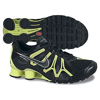 new concept eb1ee dec87 Amazon.com   Nike Mens Shoes Shox Turbo 13 Black-Volt-Silver 9 M US    Running