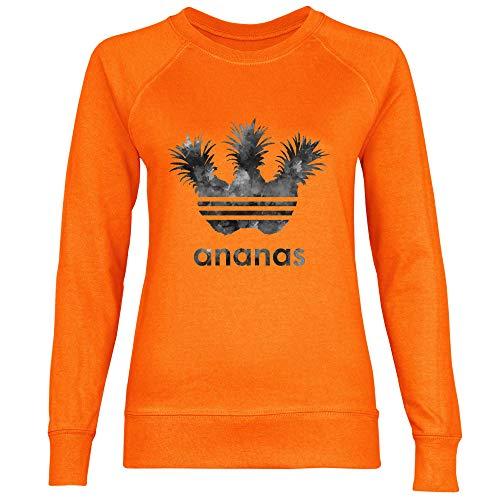 Ananas Shirt Foncé Sporting Royal Femme Orange Sweat Gris qTwvdd7tH
