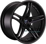19x8.5/19x9.5 Rohana RC5 5x114.3 10/20 Matte Black Wheel fit IS GS LS Lex set(4)