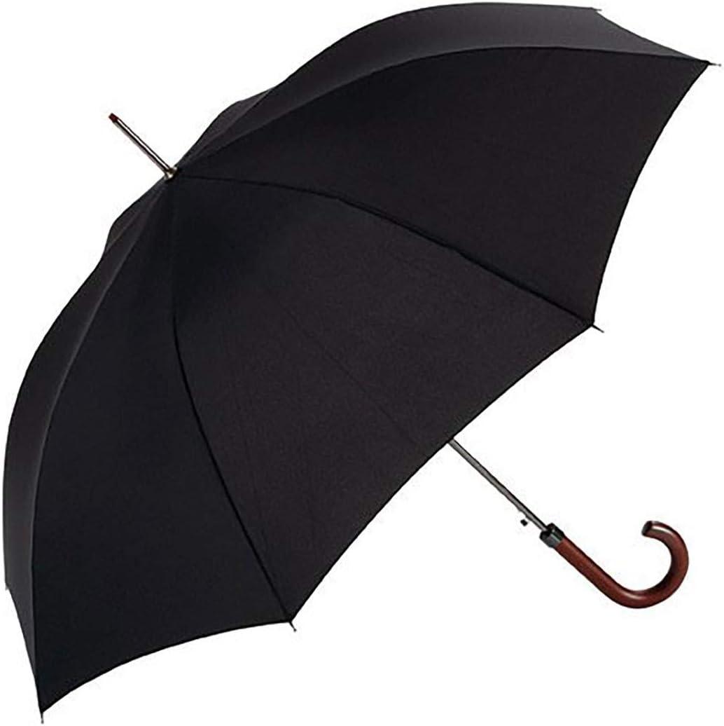 EZPELETA Paraguas Largo de Hombre. Antiviento, automático y con ...