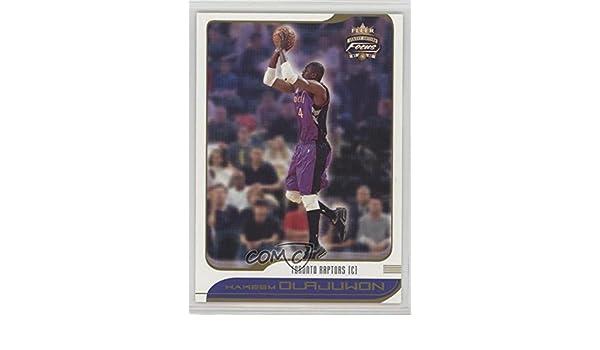 Amazon.com  Hakeem Olajuwon (Basketball Card) 2001-02 Fleer Focus Jersey  Edition -  Base   17  Collectibles   Fine Art 813887b1e