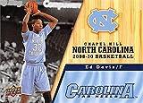 Ed Davis Basketball Card (North Carolina Tar Heels, 2008-2010) 2011 Upper Deck #81