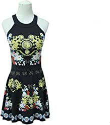f6d33fe8cb9ec Bathtub LUYIASI- Swimsuit Female Black Conservative Thin Sexy Gather Piece  Skirt Type Belly Swimwear (