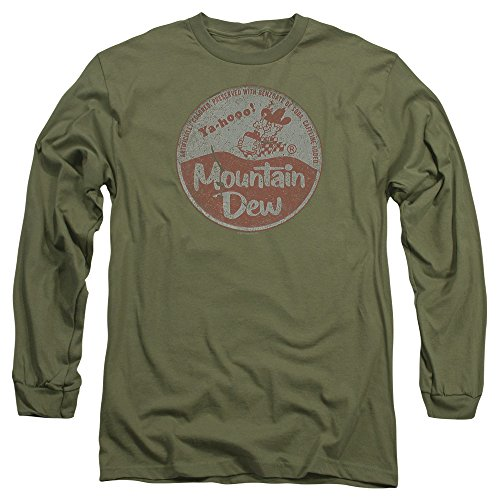 Mountain Dew Vintage Cap Unisex Adult Long-Sleeve T Shirt For Men and Women