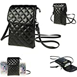 Shoulder Crossbody Bag Multipurpose Soft PU Leather Wallet Universal Cellphone Purse Moblie Phone Carrying Cases Shoulder Bag Pouch for Phones Keys Daily Use From WaitingU