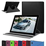 """Lenovo Tab 2 A10 Rotating Case,Mama Mouth 360 Degree Rotary Stand Cover For 10.1"""" Lenovo Tab 2 A10-70L / A10-70F Andriod Tablet,Black"""