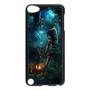 Lara Croft Tomb Raider Game iPod TouchCase Black yyfabc-398699