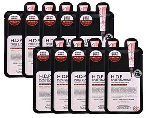 Mediheal HDP Pore-Stamping Charcoal-mineral Facial Mask Pack