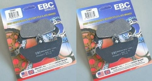 EBC Kevlar Organic Front Brake Pads (2 Sets) for Both Calipers 1996-2002 BMW R1200C Classic / 1998-2002 BMW R1200C Euro / - Caliper 1997 1996
