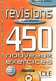 Révisions 450 Exercices : Niveau Débutant (Livre + Corrigés + CD Audio)