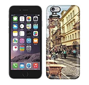 Best Power(Tm) HD Colorful Painted Watercolor Old Town (Altstadt) Heidelberg Germany Hard Phone Case For Iphone 6 Plus