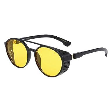 Gafas de Sol Retro Polarizado Simplicidad y Moda Gafas Sunglasses Polarizadas Clásico Retro Gafas de sol para Hombre UV400 Protection Deporte Gafas de ...