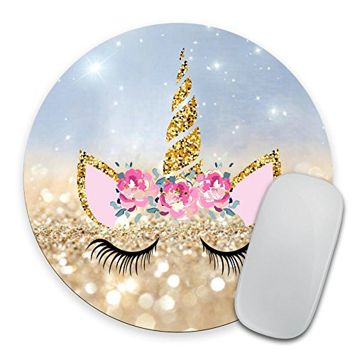 - Unicorn Mousepad, Girly Mouse Pad, Personalized Mouse Pad, Desk Accessories, Desk Decorations