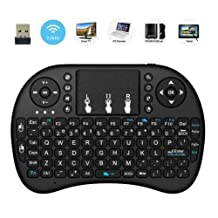 2017 NEW CIBN i8 mini Wireless Touch keyboard ,Handheld Remote,Pi 2/3,KODI,Android TV Box, HTPC/ IPTV, Windows 7 8 10