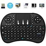 2018 NEW LCBOX i8 2.4GHz Mini Wireless Keyboard with Touchpad Mouse,Handheld Remote,Pi 2/3,KODI Android TV Box, HTPC/IPTV, Windows 7 8 10