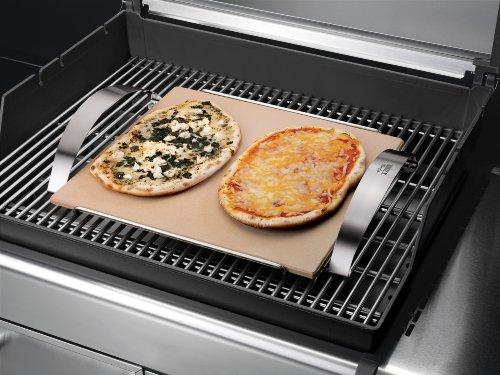 Weber Elektrogrill Mit Pizzastein : Weber pizzastein weber style: amazon.de: garten
