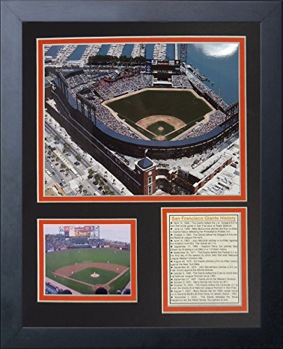 Legends Never Die San Francisco Giants AT&T Park Framed Photo Collage, 11 by ()