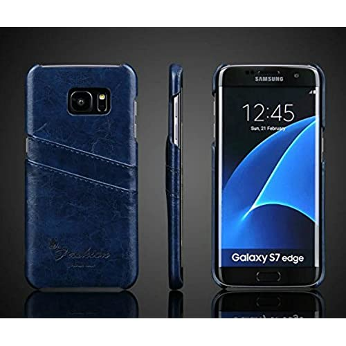 S7 Edge Case,E-fashion Samsung Galaxy S7 edge Case Premium PU Leather Wallet Case with Credit Card ID Holders Sales