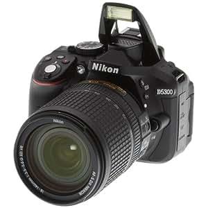 Nikon D5300 + AF-S DX 18-140 f/3.5-5.6G ED VR Juego de cámara SLR 24.2MP CMOS 6000 x 4000Pixeles Negro - Cámara digital (24,2 MP, 6000 x 4000 Pixeles, CMOS, Full HD, 480 g, Negro)